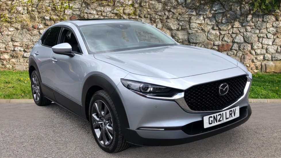 Mazda CX-30 2.0 Skyactiv-X MHEV Sport Lux 5dr - Front/Rear Parking Sensors, DAB Radio, Cruise Control & Sat Nav Hatchback (2021)