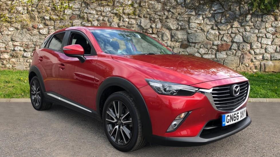 Mazda CX-3 2.0 Sport Nav 5dr - Front/Rear Parking Sensors, Sat Nav, Cruise Control & Heated Seats Hatchback (2016)