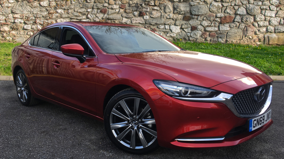 Mazda 6 Saloon 2.5 GT Sport Nav 4dr Automatic Saloon (2020) image