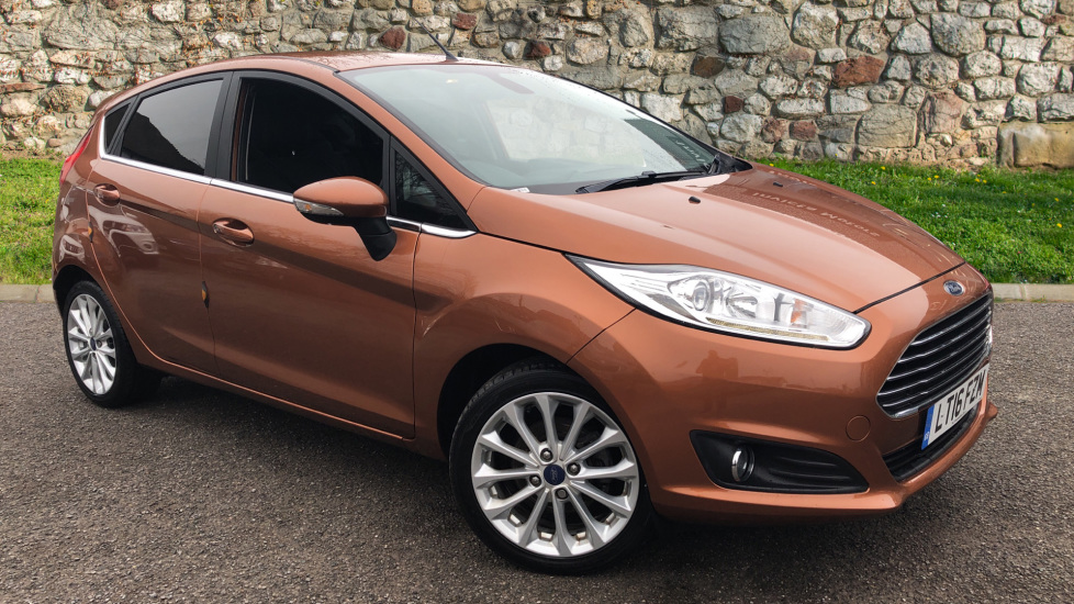 Ford Fiesta 1.0 EcoBoost Titanium X Powershift Automatic 5 door Hatchback (2016)