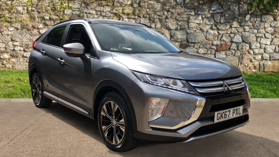 Mitsubishi Eclipse Cross 1.5 4 CVT 4WD - Low Mileage, Automatic, Head Up Display, Reverse Cam & Panoramic Roof 5 door Hatchback (2018)