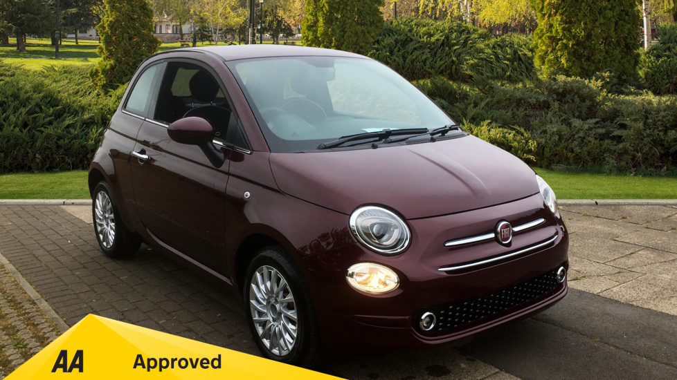 Fiat 500 1.2 Lounge - DELIVERY MILEAGE AND SUBSTANTIAL SAVING 3 door Hatchback (2019)
