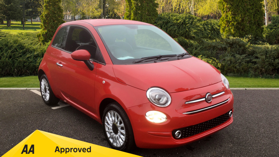 Fiat 500 1.2 Lounge - LOW MILEAGE AND SUBSTANTIAL SAVING 3 door Hatchback (2019) image