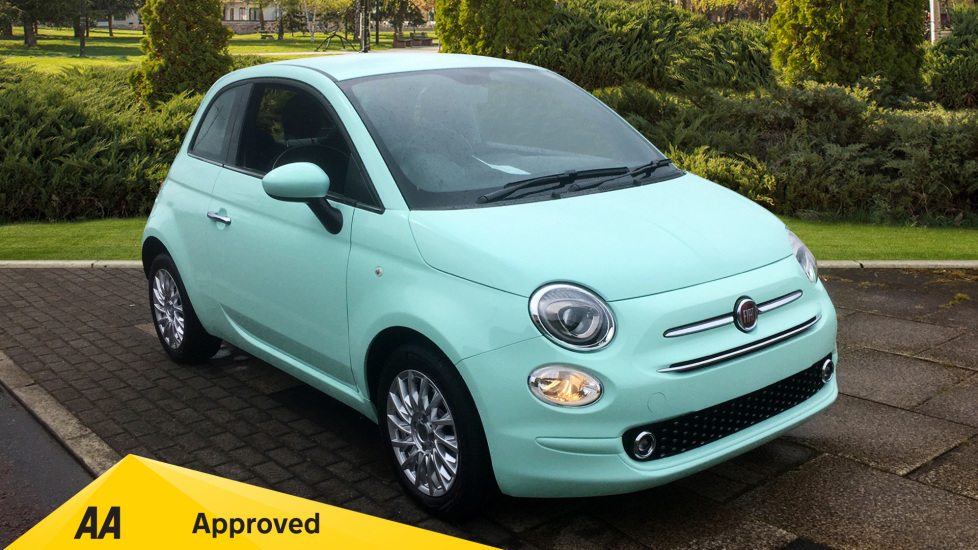Fiat 500 1.2 Lounge - DELIVERY MILEAGE AND SUBSTANTIAL SAVING 3 door Hatchback (2019) available from County Motor Works Vauxhall thumbnail image