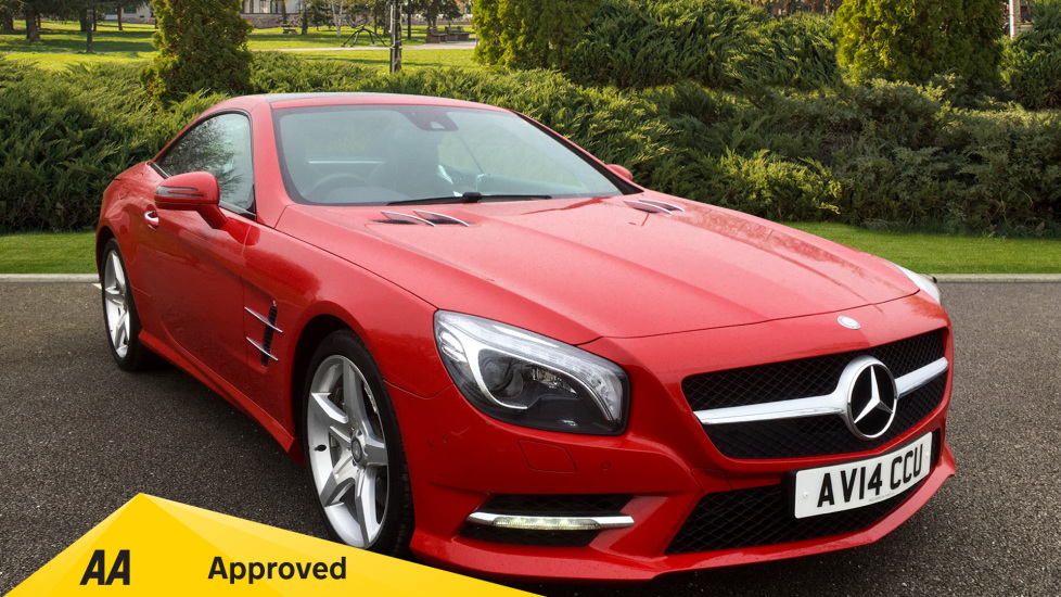 Mercedes-Benz SL-Class SL 350 with Over £8,600 worth of Factory Extras 3.5 Automatic 2 door Convertible (2014) image
