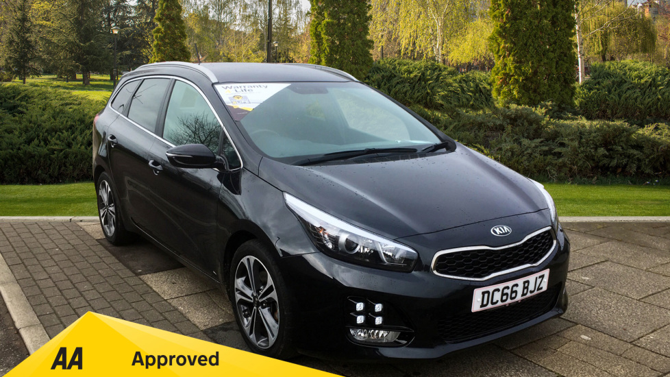 Kia Ceed 1.6 CRDi ISG GT-Line - Active TFT, Cruise Control, Bluetooth Diesel 5 door Estate (2016) available from Bolton Motor Park Abarth, Fiat and Mazda thumbnail image