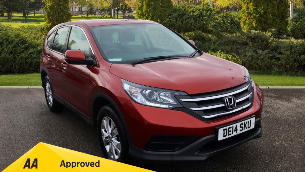 Honda CR-V 1.6 i-DTEC S 5dr 2WD with Cruise Control, Eco Mode and DAB Radio Diesel Estate (2014) image
