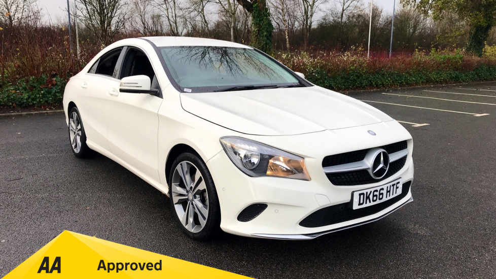 Mercedes-Benz CLA-Class CLA 200d Sport with Park Pilot and Apple/Android Car Play 2.1 Diesel 4 door Saloon (2016) image