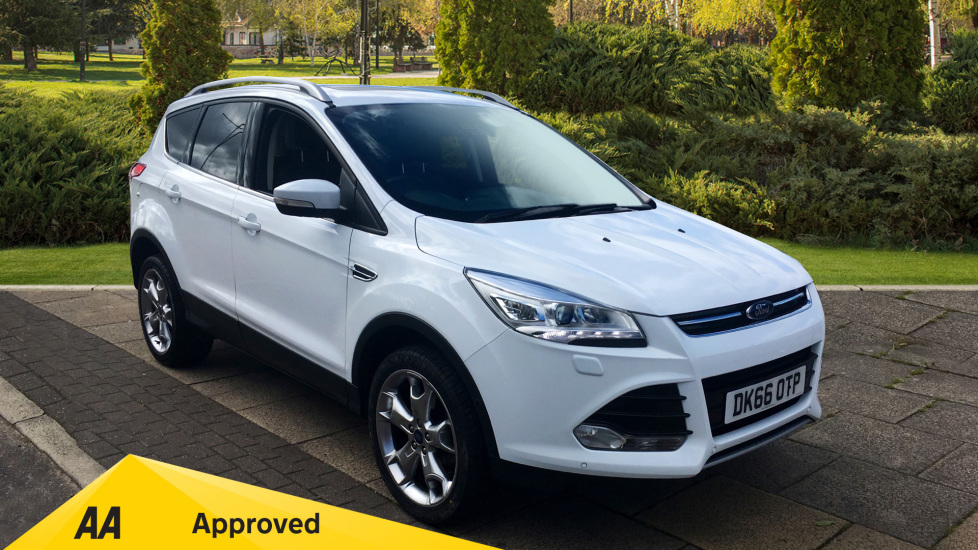 Ford Kuga 2.0 TDCi 180 Titanium X Sport 5dr with Key-less Opening, Power Tailgate, Family Pack Diesel Estate (2016) at Preston Motor Park Fiat and Volvo thumbnail image
