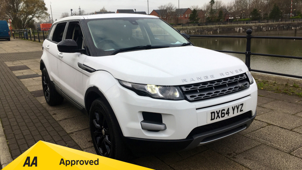 Land Rover Range Rover Evoque 2.2 SD4 Pure - Panoramic Glass Roof and Power Blinds Diesel 5 door Hatchback (2014) at Preston Motor Park Fiat and Volvo thumbnail image
