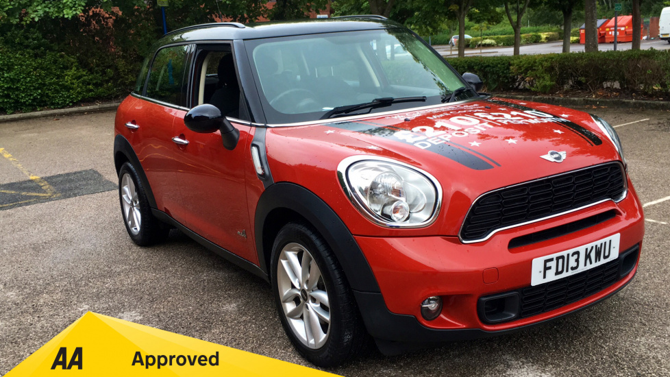 Mini Countryman 2.0 Cooper S D ALL4 5dr Diesel Hatchback (2013) image