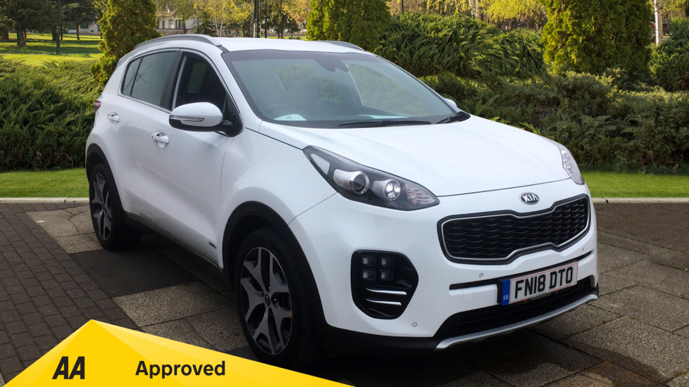 Kia Sportage 1.6T GDi GT-Line 5dr DCT [AWD] with FREE SERVICING Automatic Estate (2018) at Preston Motor Park Fiat and Volvo thumbnail image