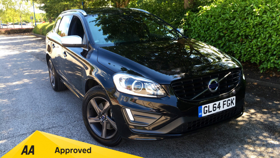 Volvo XC60 D4 [181] R DESIGN Lux Nav 5dr Geartronic with Rear Camera and SENSUS Systems 2.0 Diesel Automatic Estate (2014) image