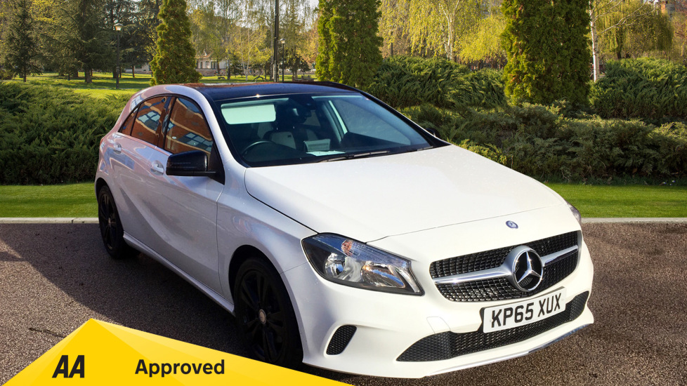 Mercedes-Benz A-Class A200d Sport 5dr with Leather, Active TFT Display, Bluetooth 2.1 Diesel Hatchback (2015) image