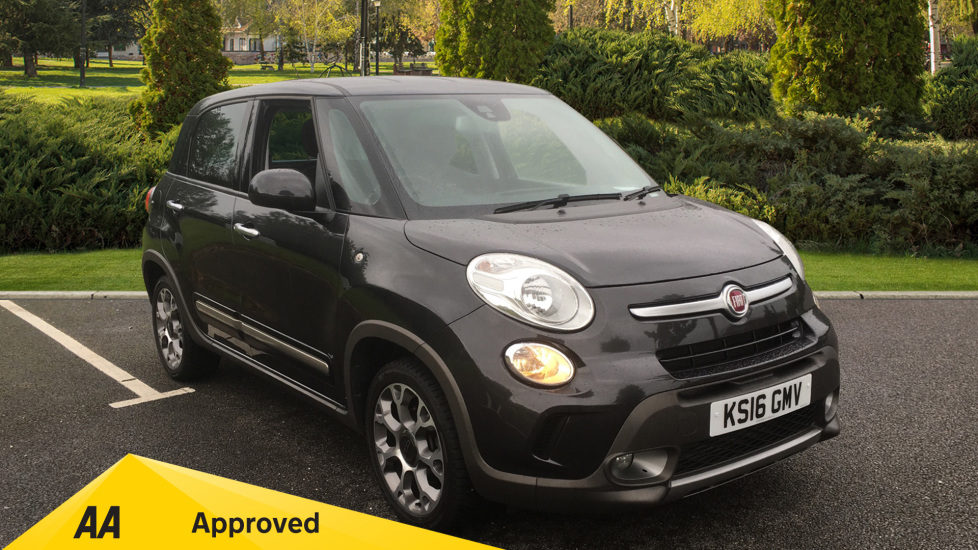 Fiat 500L 1.3 Multijet 95 Trekking 5dr Dualogic - Cruise Control, Bluetooth, Air Conditioning Diesel Automatic Hatchback (2016) image
