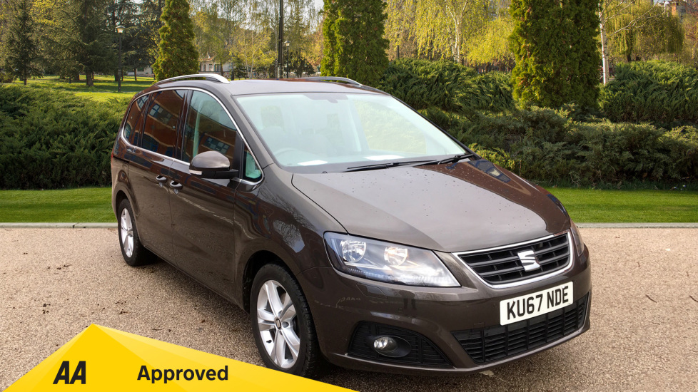SEAT Alhambra 2.0 TDI CR Xcellence [150] 5dr DSG Panoramic Glass Roof, Power Tailgate and Side Doors Diesel Automatic Estate (2017) available from Bolton Motor Park Abarth, Fiat and Mazda thumbnail image