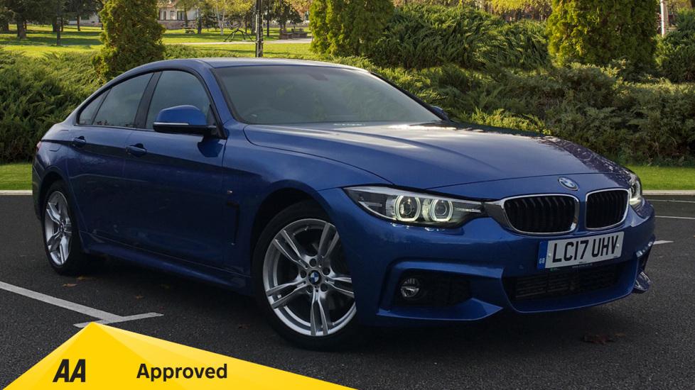 BMW 4 Series 420d [190] xDrive M Sport 5dr [Prof Media] 2.0 Diesel Automatic Hatchback (2017)