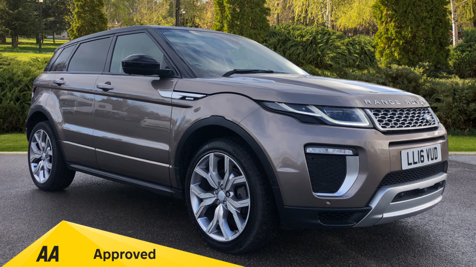 Land Rover Range Rover Evoque 2.0 TD4 Autobiography with Desirable Factory Fitted Extras Diesel Automatic 5 door Hatchback (2016) at Preston Motor Park Fiat and Volvo thumbnail image