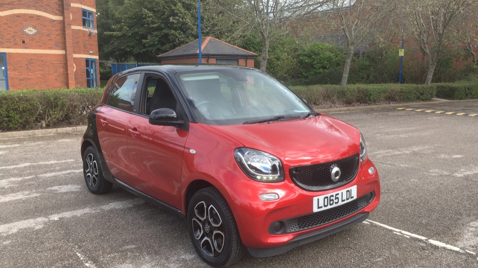 Smart ForFour 1.0 Prime 5dr with Cruise Control and Bluetooth Hatchback (2016)