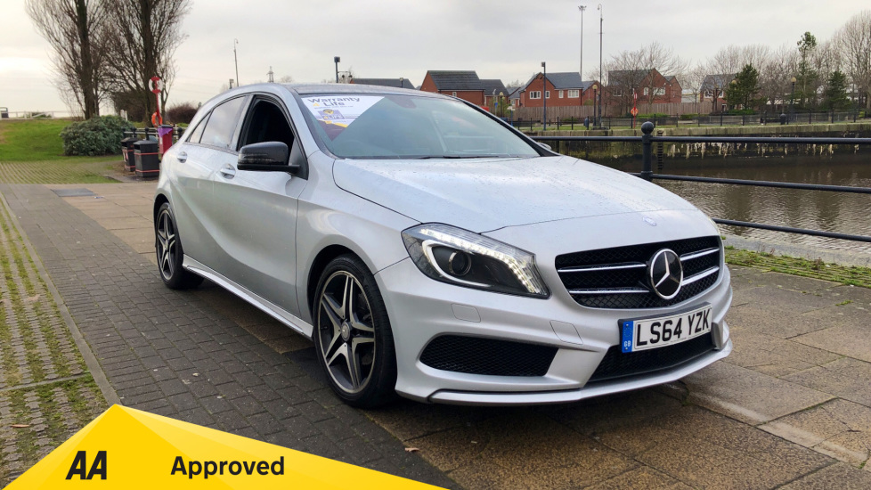 Mercedes-Benz A-Class A200 [2.1] CDI AMG Sport Panoramic Sliding Sunroof and Night Package Diesel Automatic 5 door Hatchback (2014  ) at Mazda Northampton Motors thumbnail image