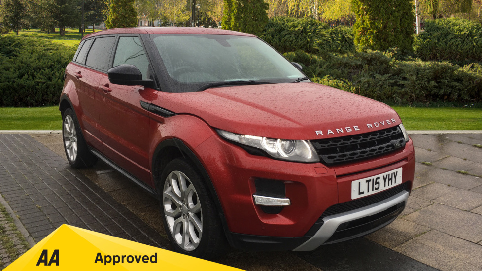 Land Rover Range Rover Evoque 2.2 SD4 Dynamic 5dr [9] with Desirable Factory Fitted Extras Diesel Automatic 4x4 (2015) at Preston Motor Park Fiat and Volvo thumbnail image
