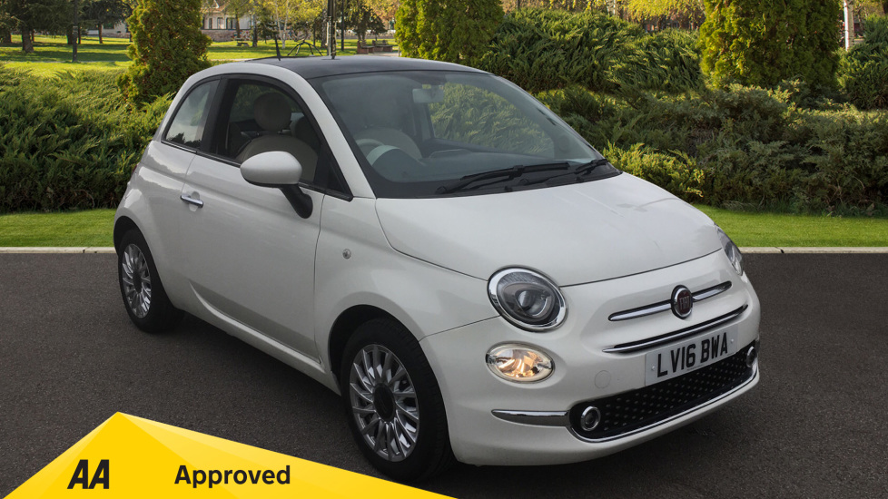 Fiat 500 1.2 Lounge Facelift Model with Rear Park Assist and LED's 3 door Hatchback (2016) at Preston Motor Park Fiat and Volvo thumbnail image