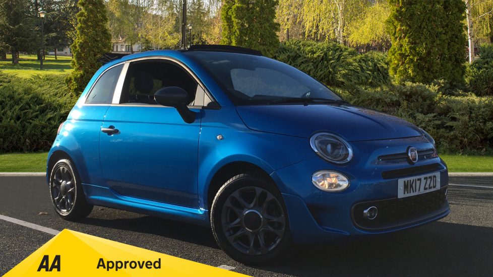 Fiat 500 1.2 S 2dr Convertible (2017)