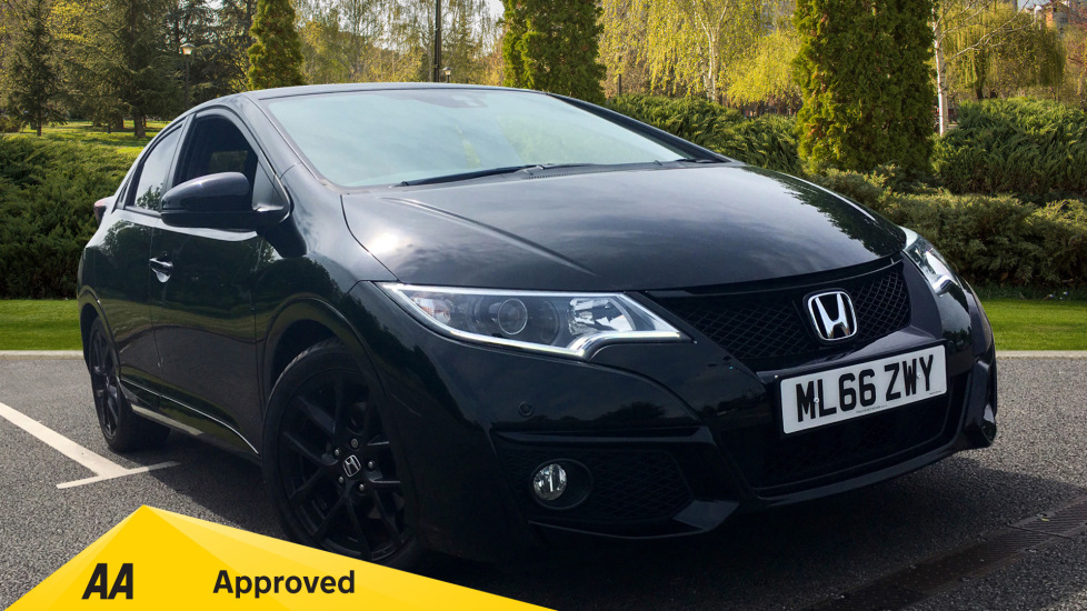 Honda Civic 1.4 i-VTEC Sport 5dr - Cruise Control, Bluetooth, Rear Park Assist, Privacy Glass 1.3 Hatchback (2016) at Preston Motor Park Fiat and Volvo thumbnail image