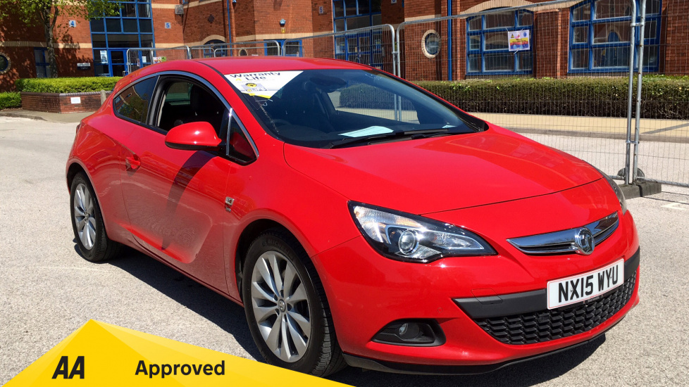 Vauxhall Astra GTC 2.0 CDTi 16V SRi with Sight and Light Packs Diesel 3 door Coupe (2015) image