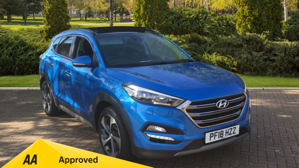 Hyundai Tucson 1.7 CRDi Blue Drive Premium SE 5dr 2WD DCT - SAT NAV, Electric Sunroof, Bluetooth Diesel Automatic Estate (2018) available from Ford Croydon thumbnail image