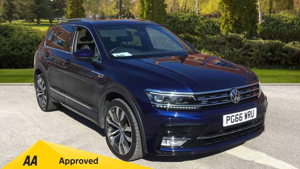 Volkswagen Tiguan 2.0 TDi 150 R Line with Desirable Factory Extras Diesel 5 door Estate (2017) at Preston Motor Park Fiat and Volvo thumbnail image