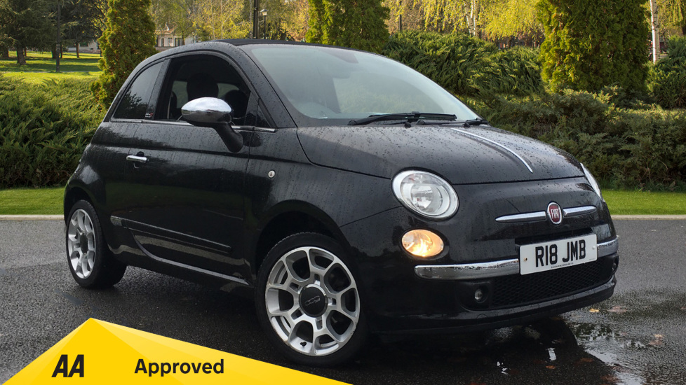 Fiat 500 1.2 Lounge 2dr Dualogic [Start Stop] Automatic Convertible (2015)