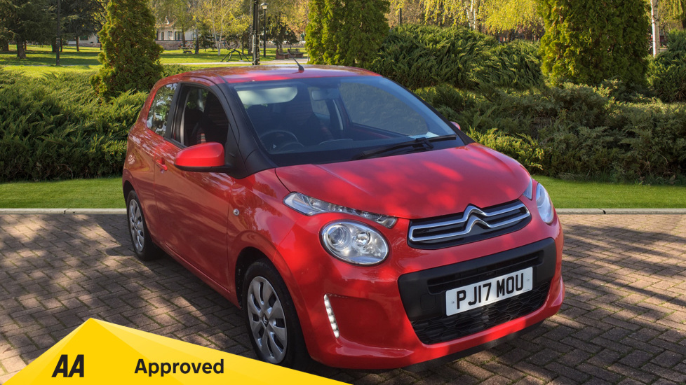 Citroen C1 1.0 VTi Feel 3dr - Bluetooth, DAB, USB and Colour Touch Screen Hatchback (2017) image