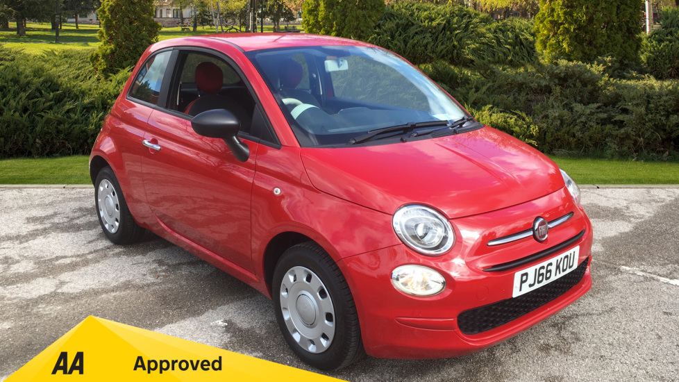 Fiat 500 1.2 Pop - LED Daytime Lights, Multifunction Steering Wheel 3 door Hatchback (2016) image
