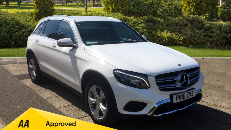 Mercedes-Benz GLC-Class GLC 220d 4Matic Sport 5dr 9G-Tronic with SAT NAV and Rear View Camera 2.1 Diesel Automatic Estate (2016)