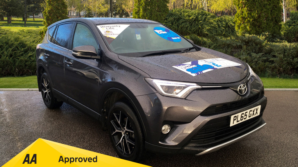 Toyota Rav4 2.0 D-4D Icon 5dr 2WD with Sat Nav, Rear Park Camera and Active TFT Screen Diesel Estate (2016)