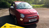 FIAT 500 COLOUR THERAPY HATCHBACK, PETROL, in RED, 2014 - image 0