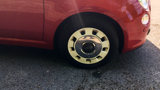 FIAT 500 COLOUR THERAPY HATCHBACK, PETROL, in RED, 2014 - image 1