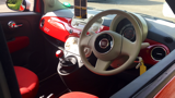 FIAT 500 COLOUR THERAPY HATCHBACK, PETROL, in RED, 2014 - image 2