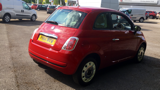 FIAT 500 COLOUR THERAPY HATCHBACK, PETROL, in RED, 2014 - image 3