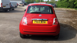 FIAT 500 COLOUR THERAPY HATCHBACK, PETROL, in RED, 2014 - image 4