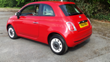 FIAT 500 COLOUR THERAPY HATCHBACK, PETROL, in RED, 2014 - image 5