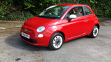 FIAT 500 COLOUR THERAPY HATCHBACK, PETROL, in RED, 2014 - image 8