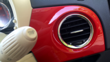 FIAT 500 COLOUR THERAPY HATCHBACK, PETROL, in RED, 2014 - image 23