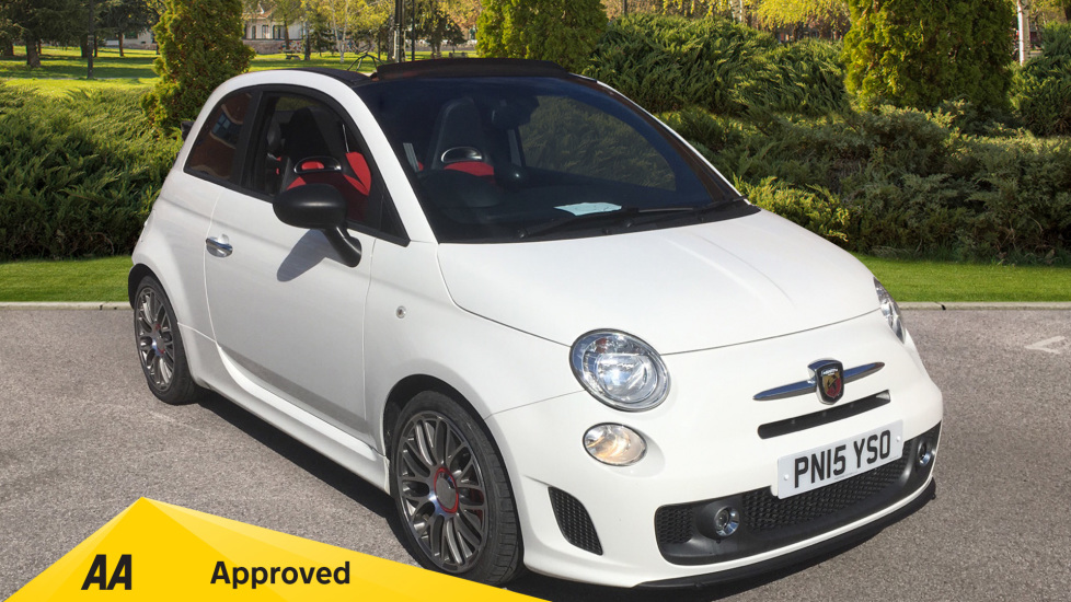 Abarth 595 1.4 T-Jet Turismo 2dr - Rear Park Assist, Bluetooth, Electric Roof, USB Convertible (2015) at Preston Motor Park Fiat and Volvo thumbnail image