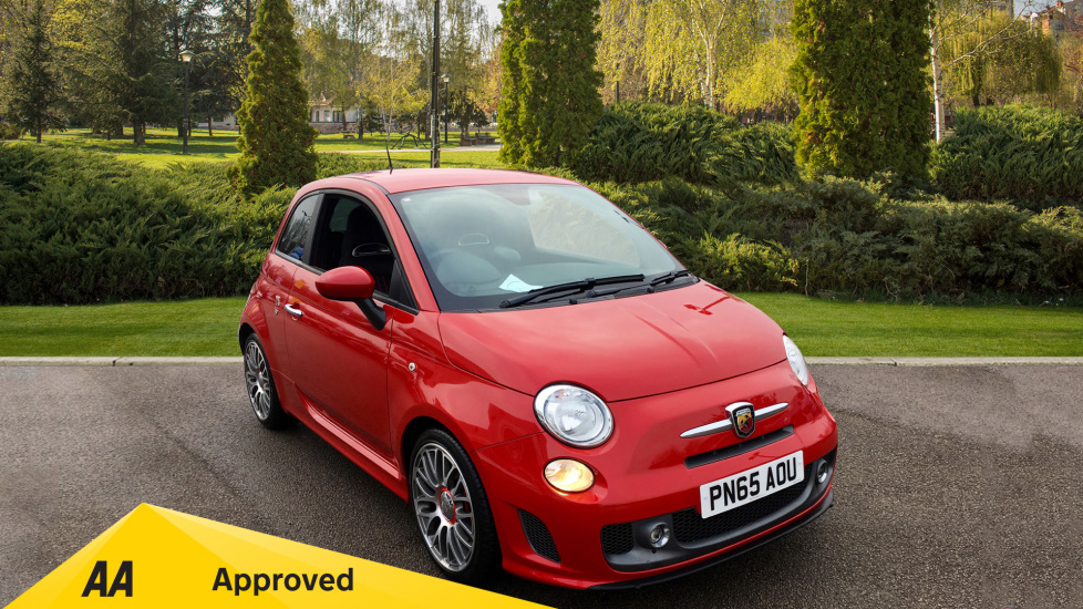Abarth 595 1.4 T-Jet Turismo with Black Leather, Bluetooth, Rear Park Assist 3 door Hatchback (2015) image