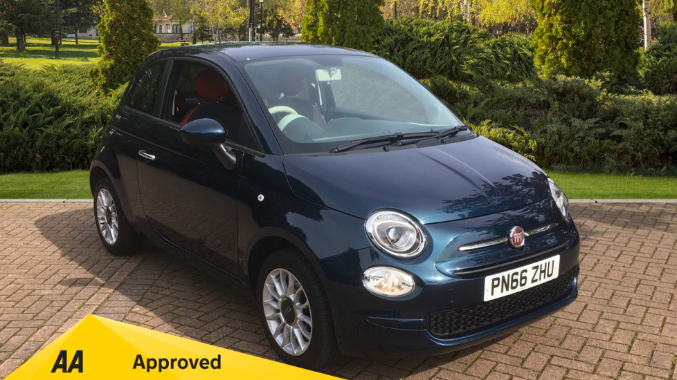 Fiat 500 1.2 Pop Star 3dr with Air Conditioning and Alloy Wheels Hatchback (2016) image