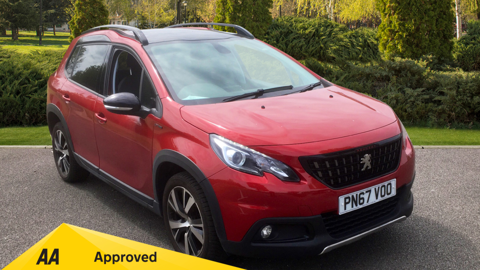 Peugeot 2008 SUV 1.6 BlueHDi 120 GT Line 5dr - Panoramic Glass Roof, SAT NAV Diesel Estate (2017) image