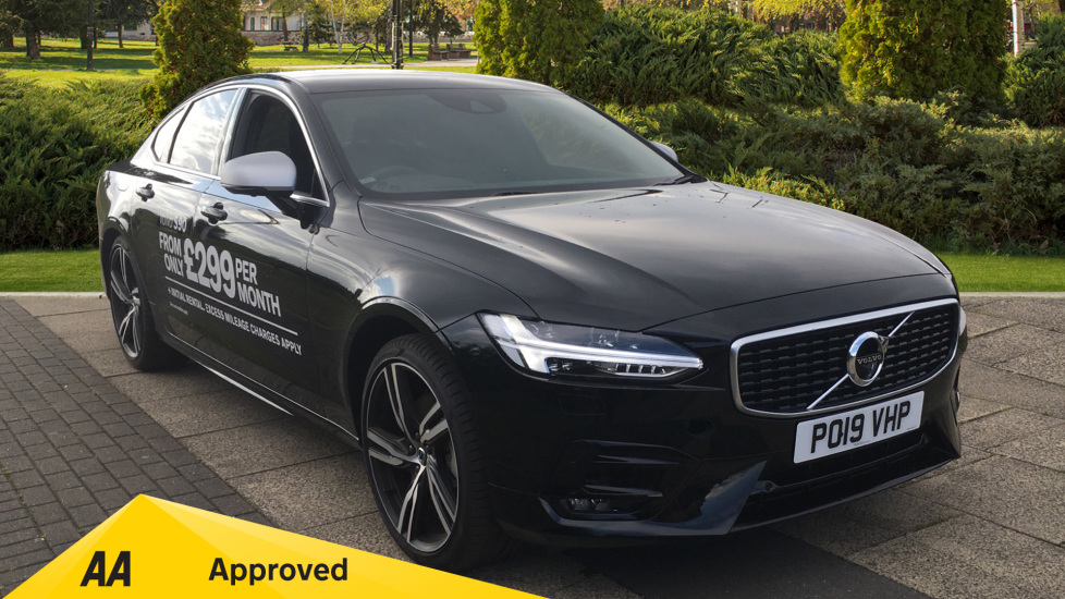 Volvo S90 2.0 D5 PowerPulse R DESIGN Pro AWD  - Driver Support, SAT NAV, DAB, BLIS Diesel Automatic 4 door Saloon (2019) image