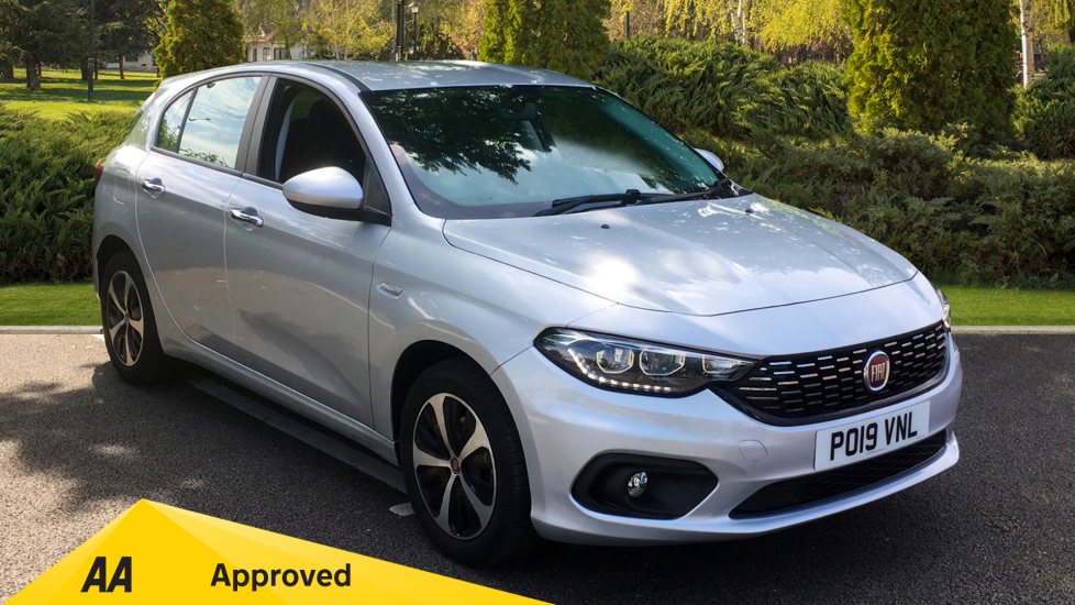 Fiat Tipo 1.6 Multijet Elite with Adaptive Cruise Control, SAT NAV, Bluetooth Diesel 5 door Hatchback (2019)